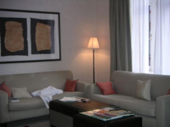 51บักกิ้งแฮมเกท ทัจ สวีทส์ แอนด์ เรสซิเดนซ์: other portion of sitting room