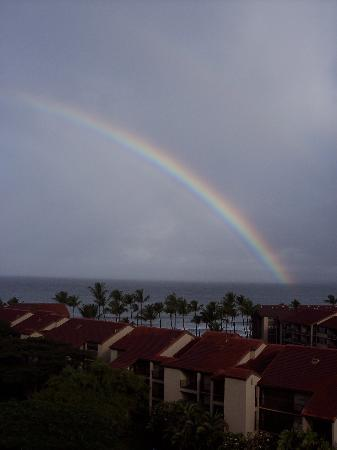 Aston Kaanapali Shores: View from our balcony