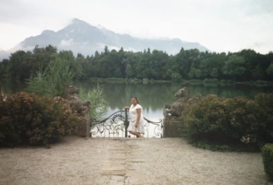 Salzburg, Österreich: the gates from the film