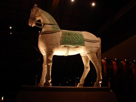 The Datai Langkawi: One of the majestic horses in the lobby