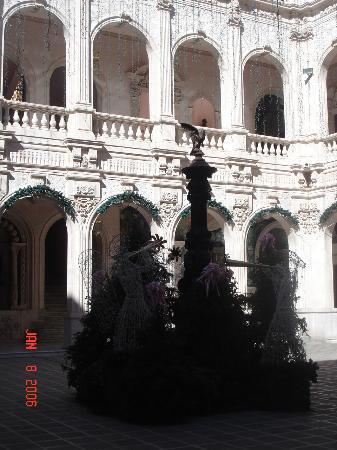Museo Grafico de la Revolución Mexicana: Courtyard of Museum