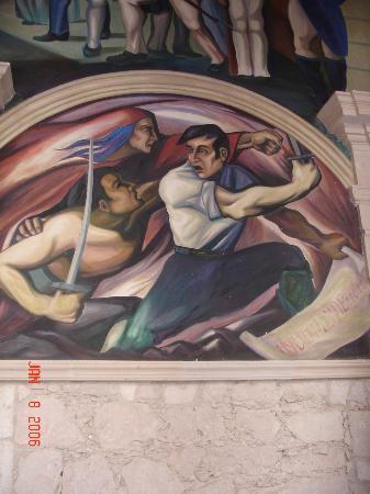 Palacio del Gobierno : Another Mural