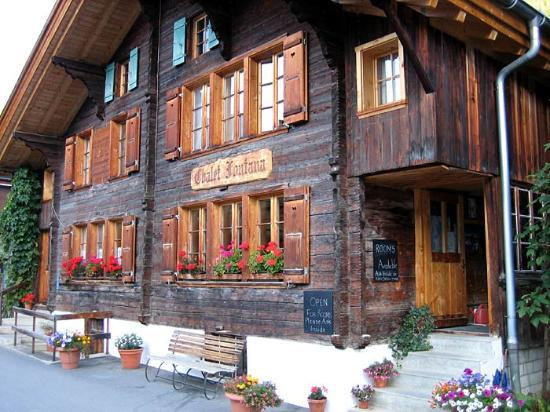 Chalet Fontana: Front view