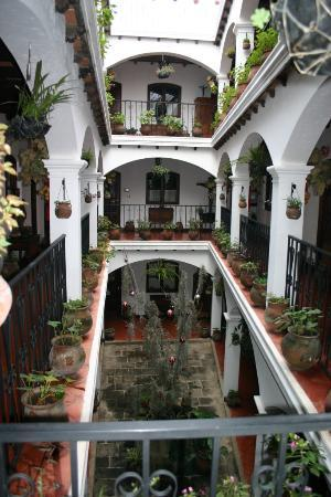 Santo Tomas Hotel: Wiithin the hotel complex