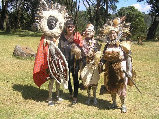 Fairmont The Norfolk: largest Kenyan tribe