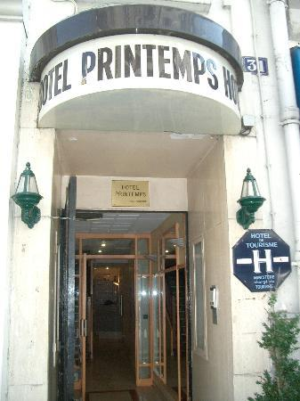 Hotel Printemps: L'ingresso
