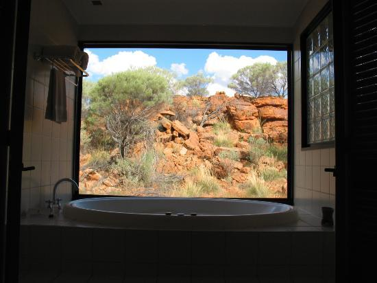 Kings Canyon, Austrália: our spa