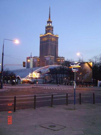 InterContinental Hotel Warsaw: The Palace of Culture and Science