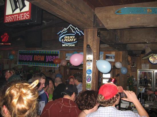 Whitefish, MT: 'stube on new years