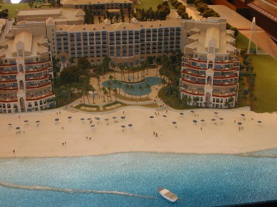 The Ritz-Carlton, Grand Cayman: This is a model
