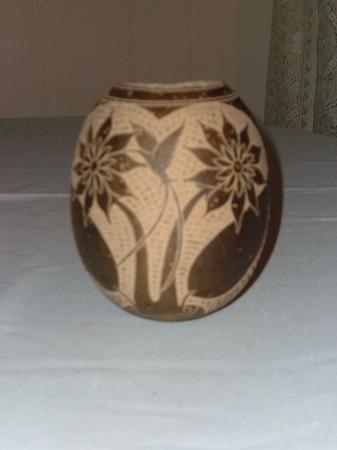 Montego Bay, Jamaika: Carved Gourd