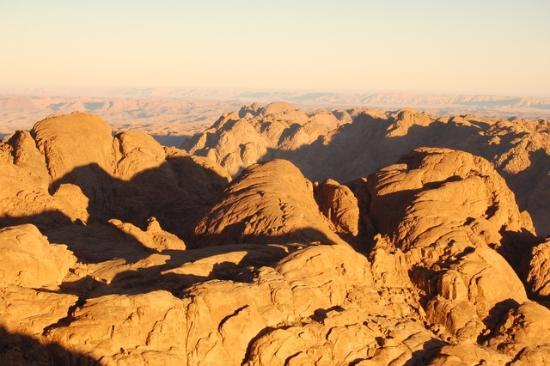 Red Sea and Sinai, Egypt: morning view