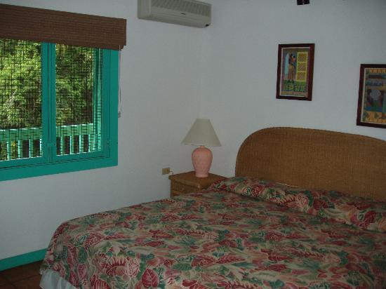 Mongoose Apartments : Bedroom (has AC)