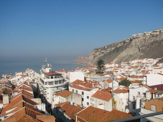 Hotel Da Nazare: View from Breakfast Dining Room