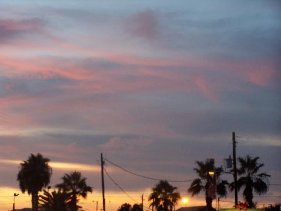 Houston, TX: sunset at dinner