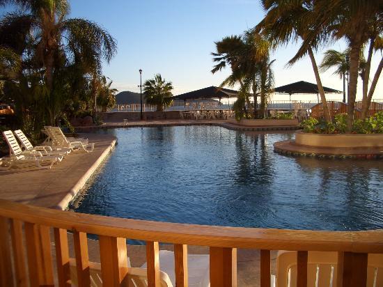 San Carlos Plaza Hotel Resort & Convention Center: Pool Area
