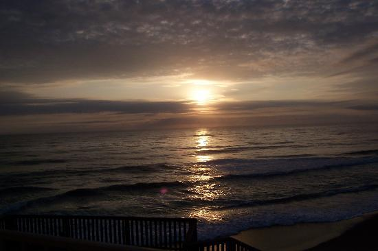 Nags Head, Carolina do Norte: Sun rise