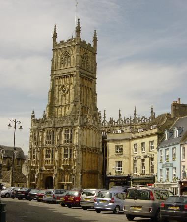 Киренчестер, UK: Cirencester Abbey