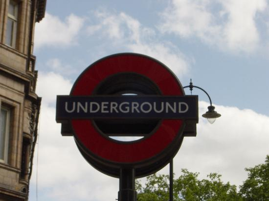 Londres, UK: The Underground