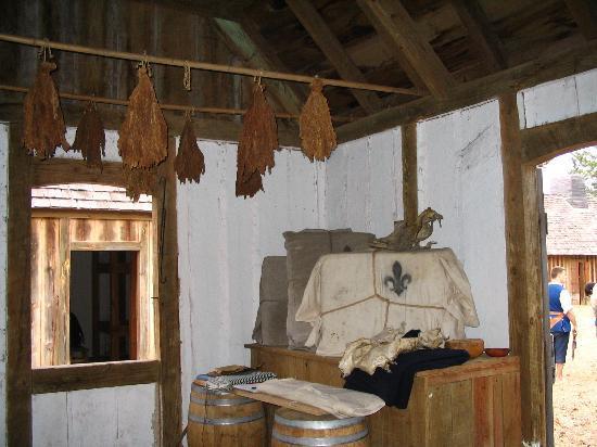 Fort St. Jean Baptiste: Interior