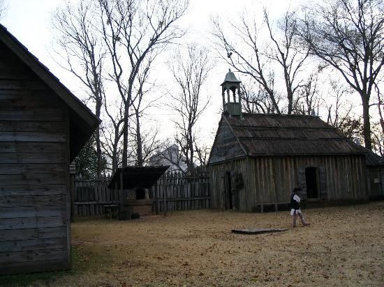 Fort St. Jean Baptiste : Church at Fort