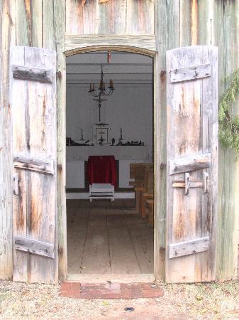 Fort St. Jean Baptiste: Interior of Church