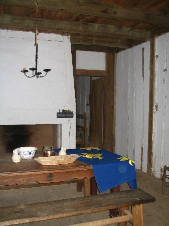 Fort St. Jean Baptiste : Interior of Barracks