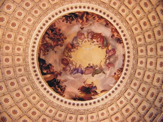 Washington DC, DC: Capital Rotunda Fresco