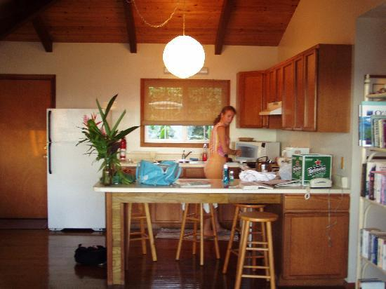 Dunbar Beachfront Cottages: The kitchen