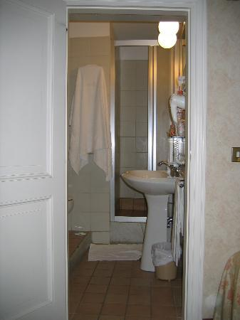 Hotel Fortuna: Bathroom