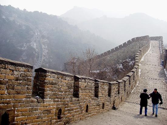 Gran Muralla China en Mutianyu: The Wall at Mutianyu