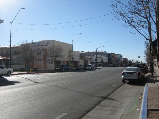 Gadsden Hotel: Street outside hotel