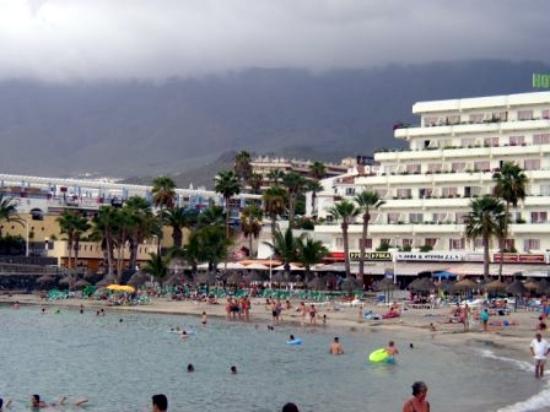 Santa Barbara Golf & Ocean Club: Looks like rain in Playa de las Americas