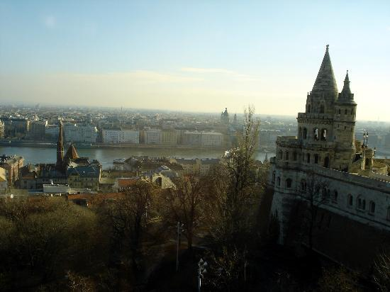 Hilton Budapest: and to the right....