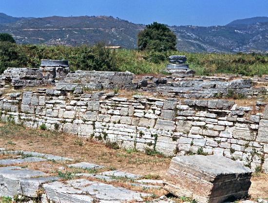 Pythagorion, Greece: Overview of the Heraion area