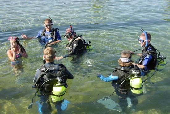 Toyahvale, TX: Scuba Diving Class