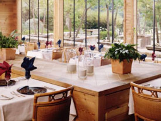The Restaurant at Ventana: Open Air Dining