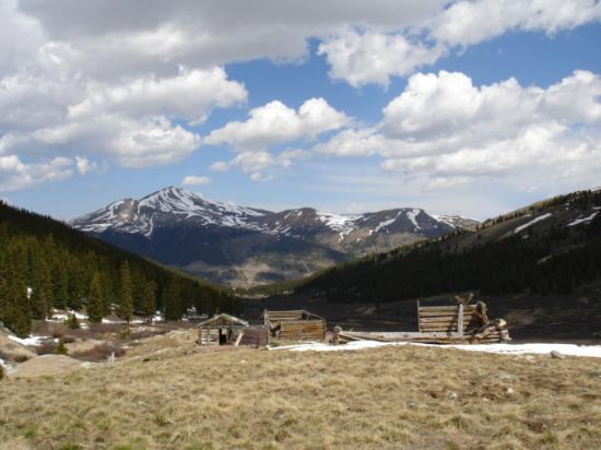 Leadville, Kolorado: Jacques Peak & Cabins