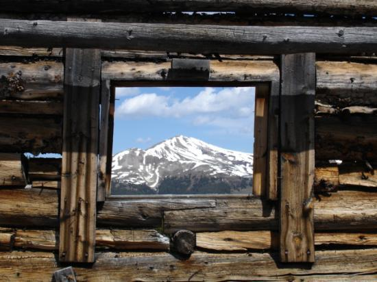 Mayflower Gulch: Jacques Peak Framed