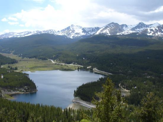 View Back Toward  Breckenridge