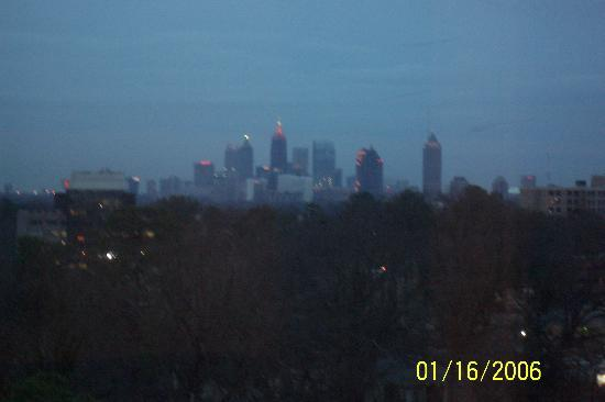 view of downtown Atlanta