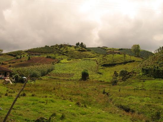 Guatapé, Colombia: Countryside near El Penol