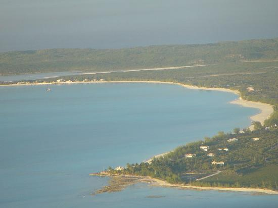 Cape Santa Maria Beach Resort & Villas: Viw of the Cape Beach from the air