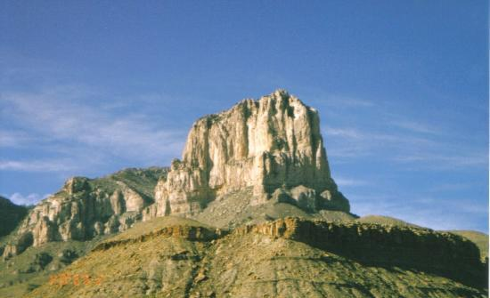 Guadalupe Mountains National Park, Teksas: El Capitan