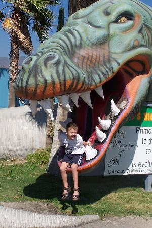 Cabazon Dinosaurs: Sign up Close K