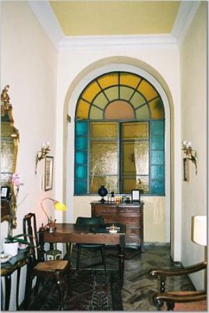 Lobby of Hotel Cestelli