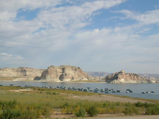View of Lake Powell from Hotel