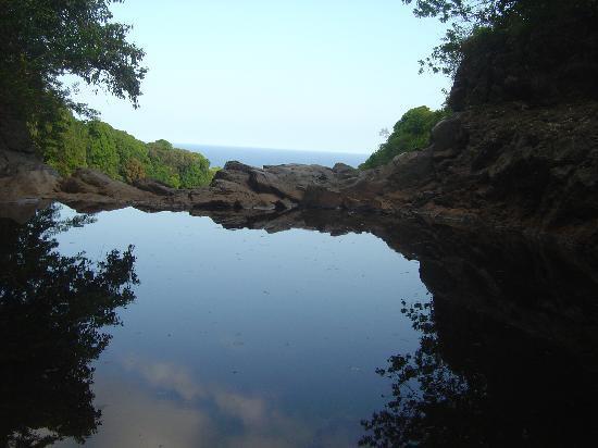 Infinity Pool Along Pipiwai Trail Near End Of Rd To Hana