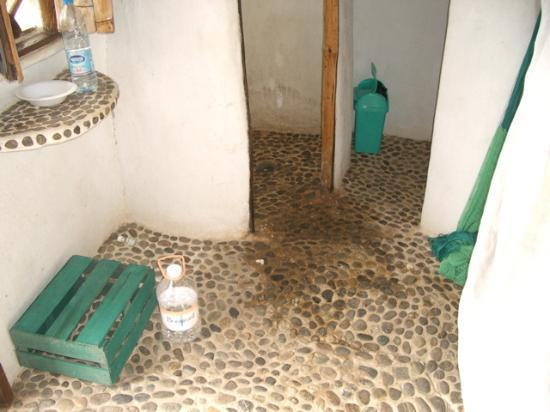 Zipolite: Cabanas inside can be awful -ours doubled as an outhouse