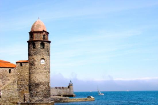 Collioure, Frankrig: The waterfront